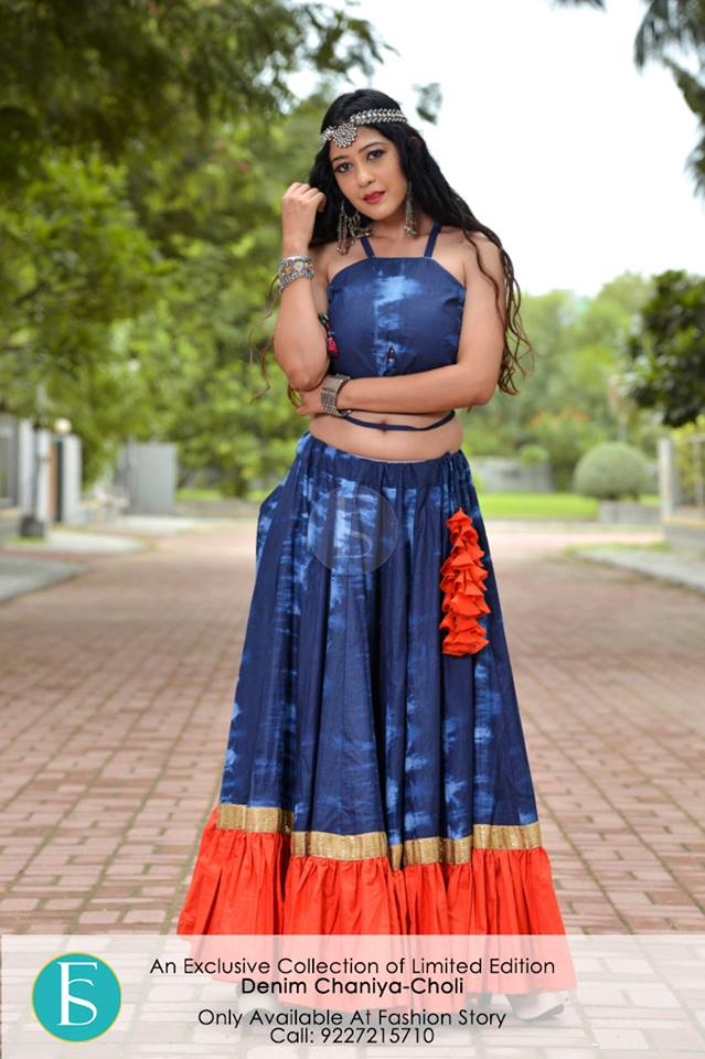 traditional gujarati chaniya choli online india