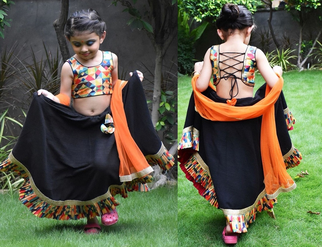 unique chaniya choli design online