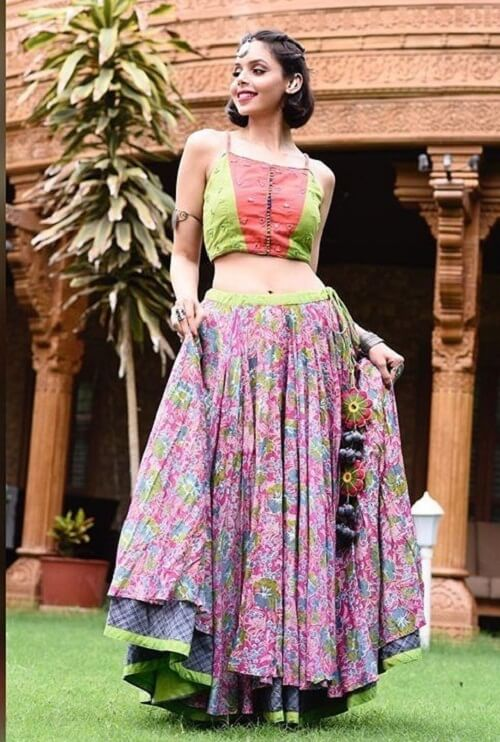 new designs of cotton chaniya choli for women online at low price