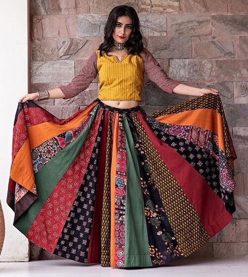 latest Navratri Collection Printed Chaniya Choli For Gujarat manufacturers