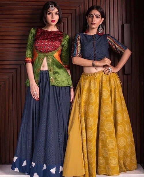 designer cotton chaniya choli for women from Ahmadabad suppliers