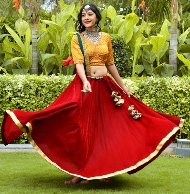 Latest collection Navratri chaniya choli design