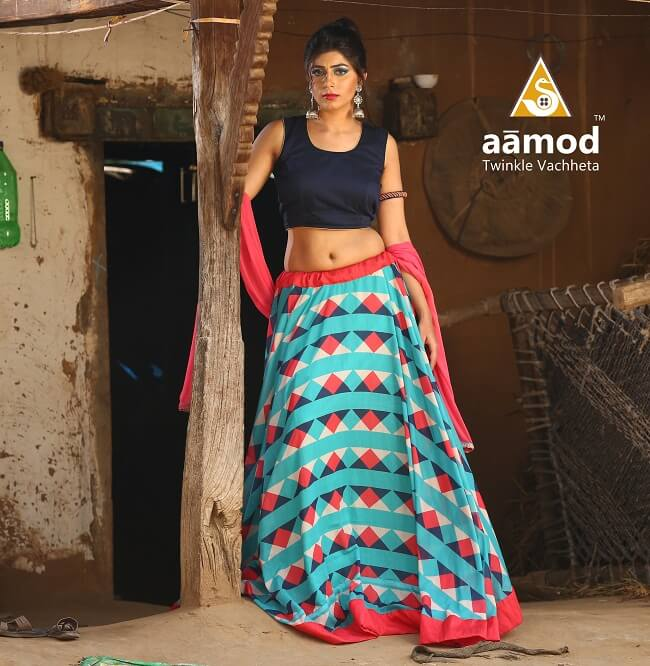Designer chaniya choli Pattern for Ahmedabad suppliers