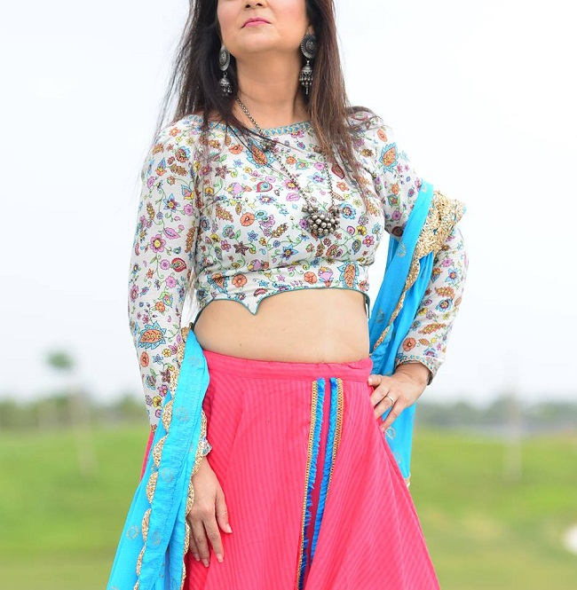 navratri blouse new patterns from ahmedabad wholesalers with image