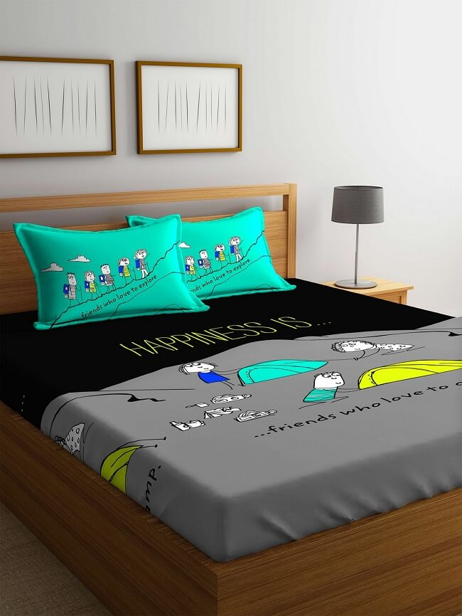 10 Best Bed Sheet Brands In India To Light Up Bed Room Looksgud In