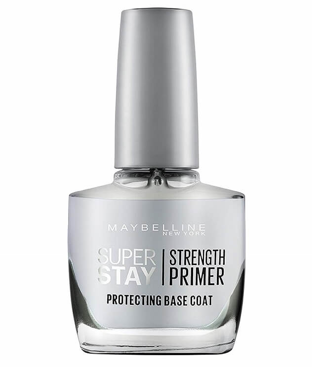 white top coat gel nail polish nail strengthener