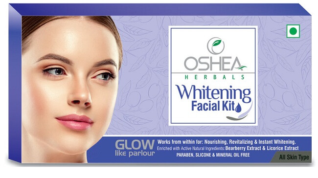 Oshea is best whitening herbal facial for oily skin before marriage