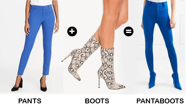 pants that are also boots hybrid identity in things fall apart