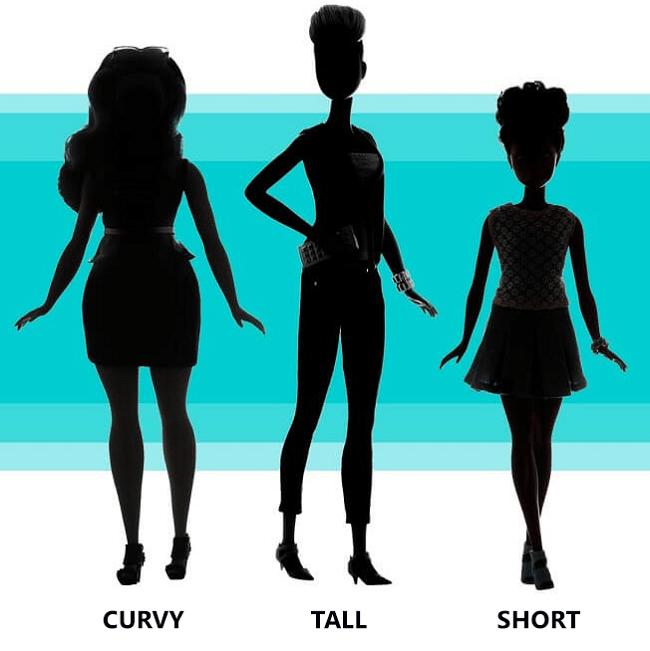 shorts according to body type