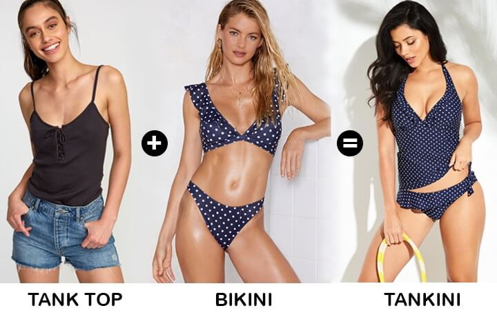 tankini swimsuits for women hybrid styles in fashion