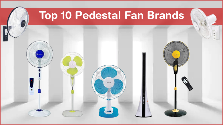 best high speed pedestal fan brand in india with price