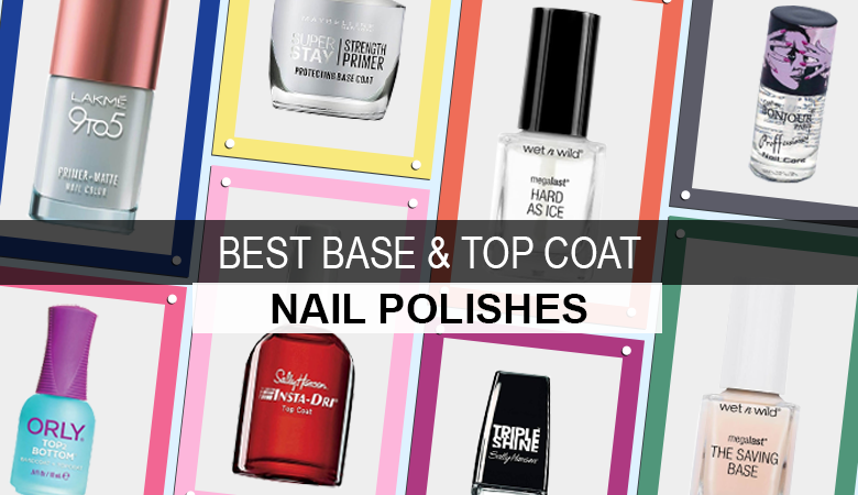 best base coat and top coat nail polish to buy online in india
