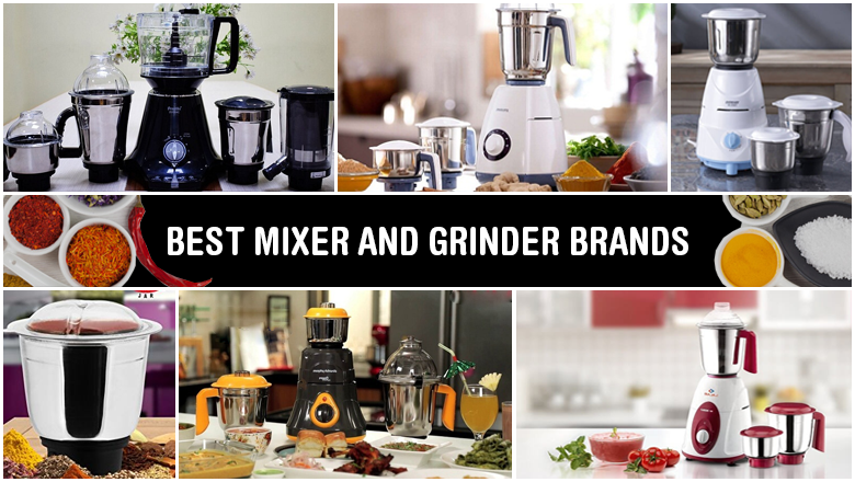 top 10 reviewed mixer grinder brand in india for online shopping