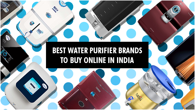 Buy 10 Best Water Purifier Brands to remove drinking water impurities while retaining essential minerals