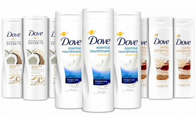 dove intensive nourishing body lotion for extra dry skin