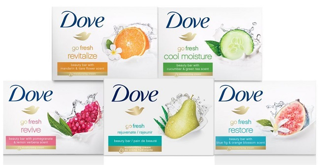 dove is refreshing and nourishing soaps brand in india