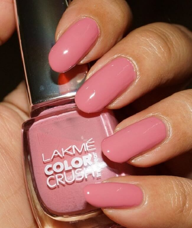 Lakme the best brand to buy gel matte and glitter nail polish in india