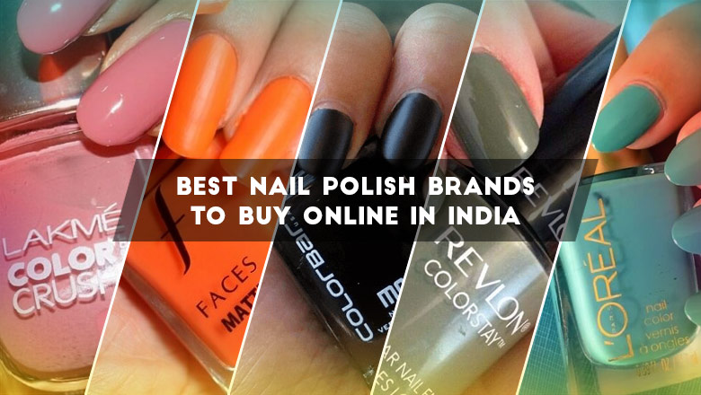 Top Nail Polish Brands in India
