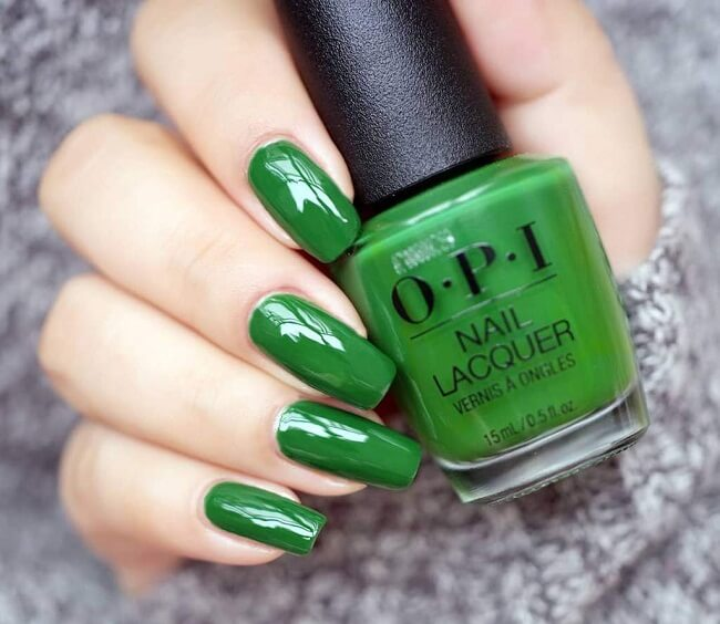 Buy O.P.I Nail Paint in Glitter & Glossy finish Online