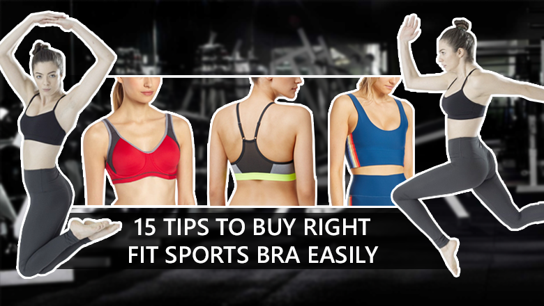 Tips to Buy Right Fit High Impact gym Sports Bra Easily