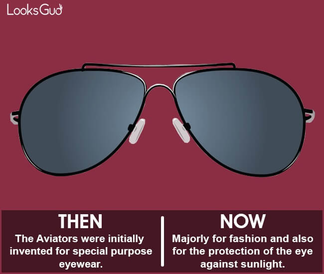 aviator sunglasses history