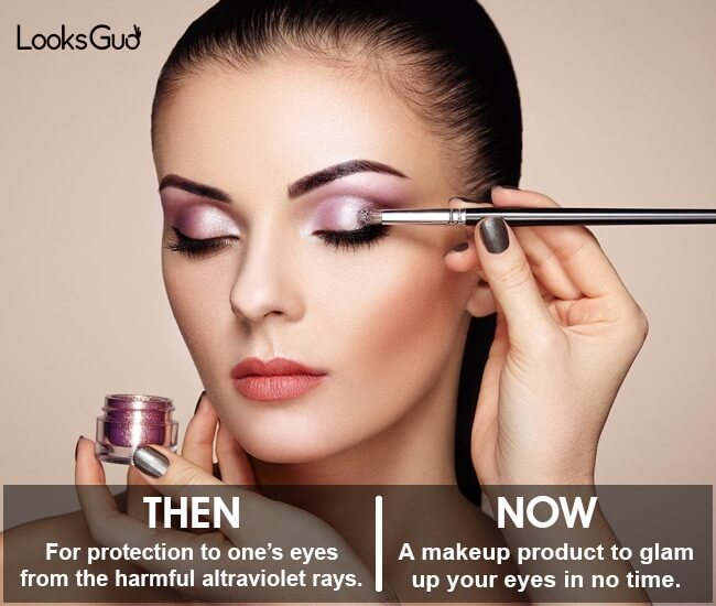 eyeshadow invention history