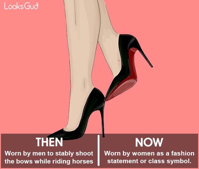 evolution of high heels