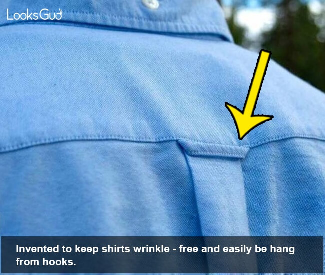 what are the hanging loops on clothes