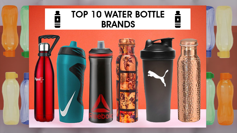 Top 10 Reusable Water Bottle Brands In India To Keep Water Hot & Cool
