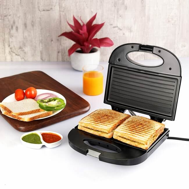 The evolved electric sandwich maker benefits every member of the household