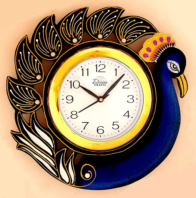 buy branded wall clock in india at cheapst price online