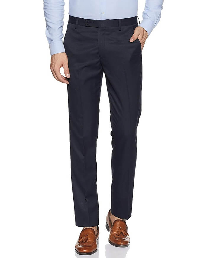 mens formal trousers skinny fit