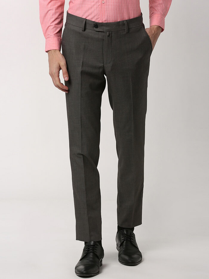 formal cotton trousers online india
