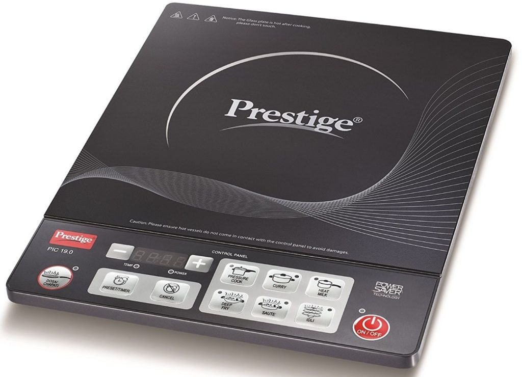 prestige top trending cooktop brand in india