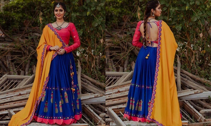 designer lehenga online shopping with price