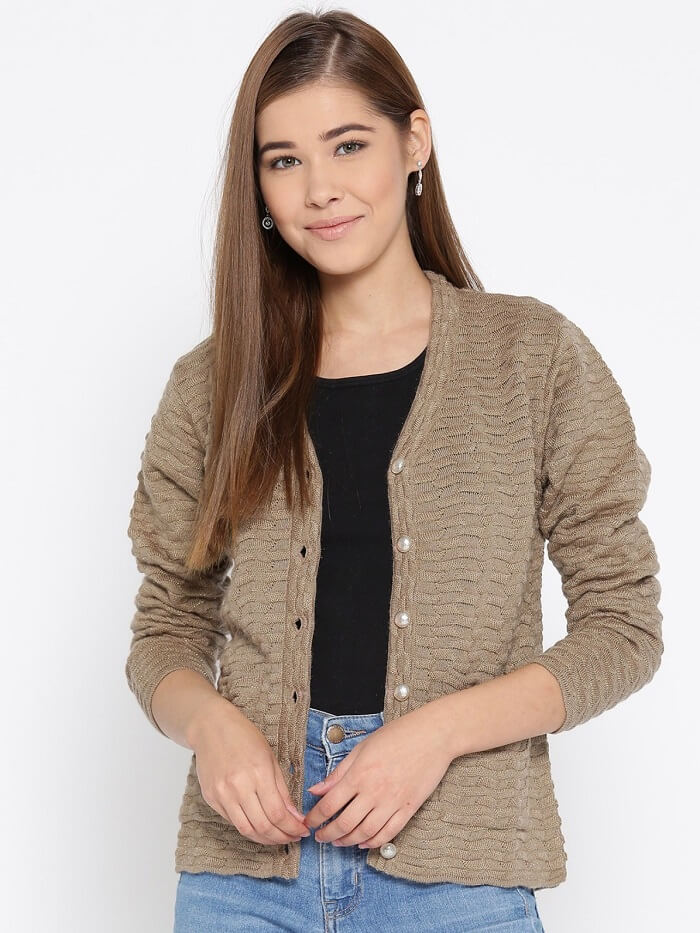 womens cardigan sweater jackets 2019 in india