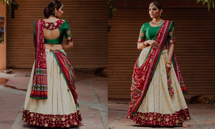 simple lehenga choli designs with price