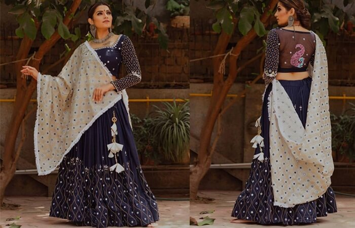bridal ghagra choli designs with price