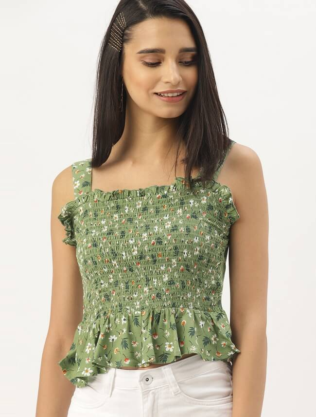 crop top online lowest price in india