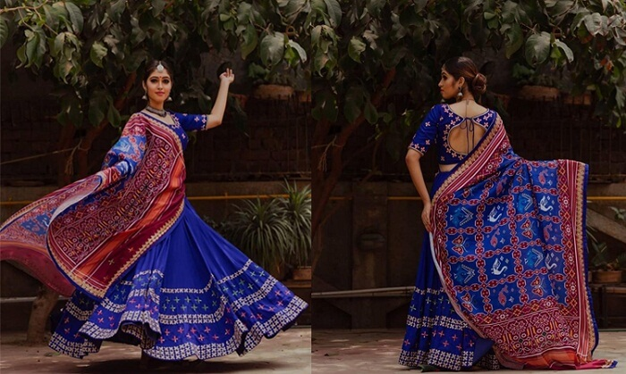 navratri ghagra choli designs with price
