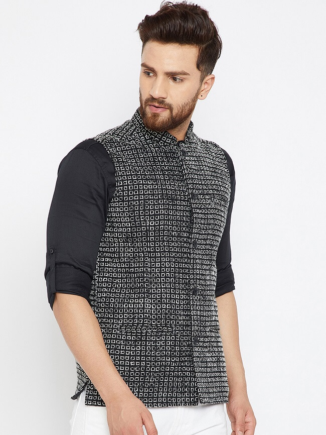 buy even woolen nehru jacket online in india