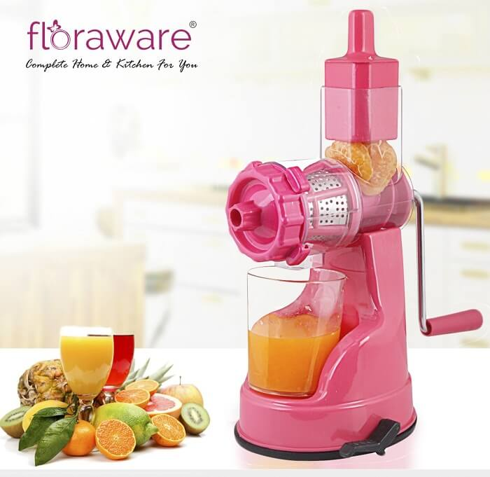 floraware plastic fruit and vegetable juicer