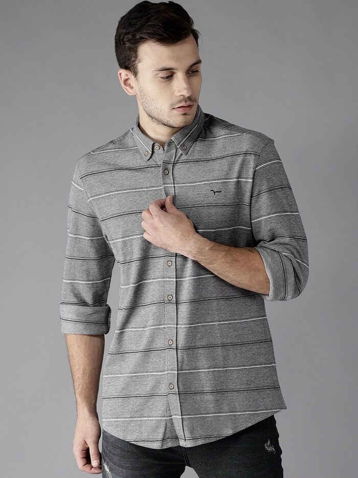slim fit casual shirts lowest price