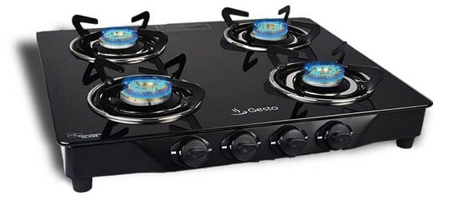gesto Automatic ignition gas stove in india