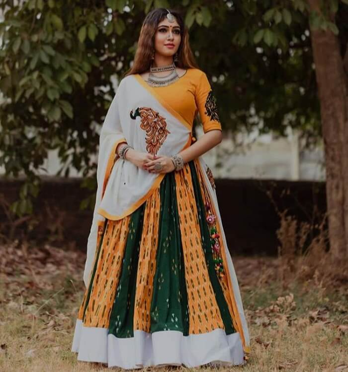 latest chaniya choli designs for navratri 2019 india