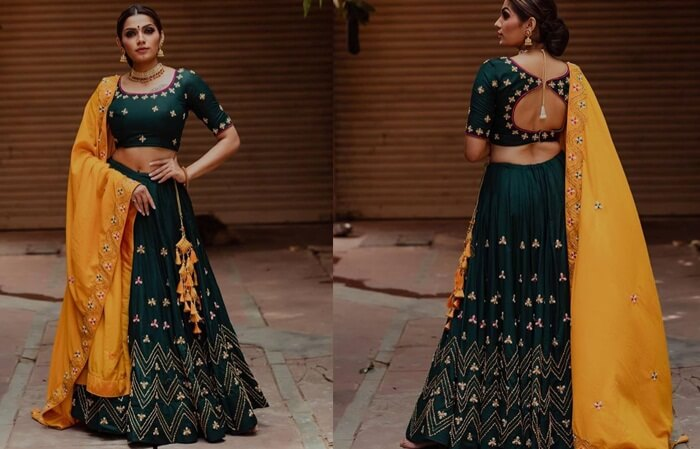 navratri garba chaniya choli designs