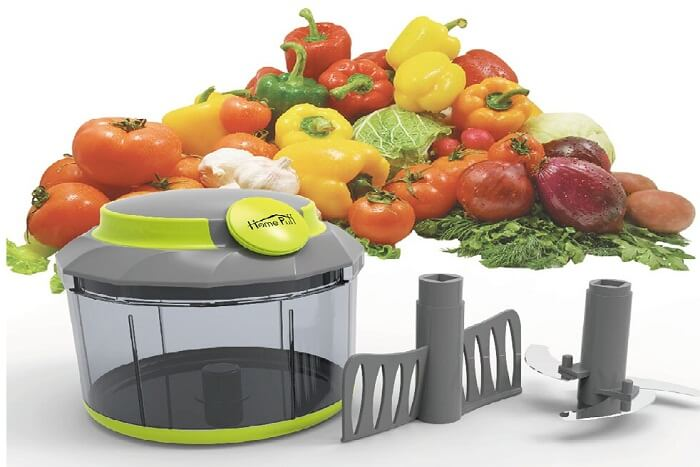 home puff plastic vegetable chopper