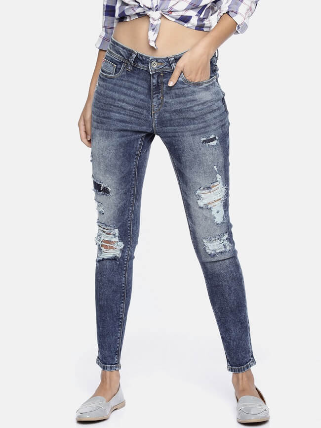 regular fit womens jeans