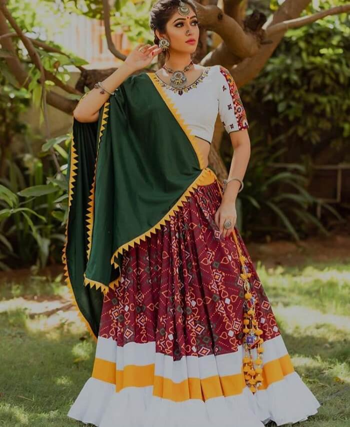 latest fashion chaniya choli for navratri 2019