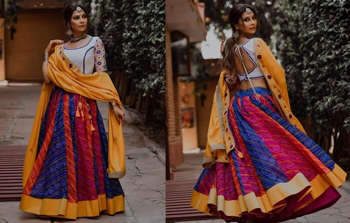 traditional chaniya choli for garba online shopping